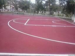 Тартановое покрытие для спортивных, детских площадок - фото 3