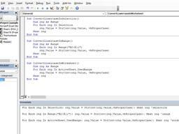 Написание макросов (VBA) на Excel