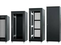 Напольные серверные телекоммуникационные шкафы 19 дюймов