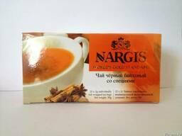Чай Nargis с добавкой Масалы 25 пакетиков.