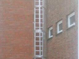 Настенные лестницы с несколькими маршами