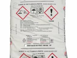 Натрий метабисульфит (пищевой, Е223)