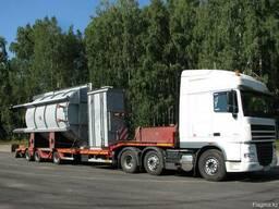 Негабаритные первозки, перевозка негабаритных грузов