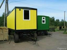 Новый вагон-дом на шасси Д*Ш*В 6м*2, 5м*2, 5м