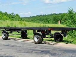 Новые шасси тракторных прицепов 6 метров.