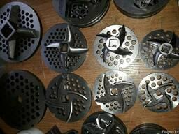 Ножи решетки к импортным мясорубкам 12, 22, 32, и 42 модели.