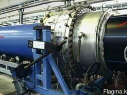 Оборудование для экструзии защитного ПП слоя на ПЭ трубы