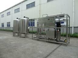 Оборудование для многоступенчатой очистки питьевой воды