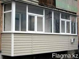 Обшивка и утепление балконов,лоджий