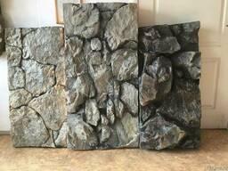 Объёмные камни и панели