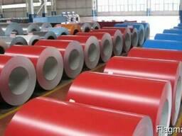 Оцинкованная рулонная сталь с полимерным покрытием 0, 25мм