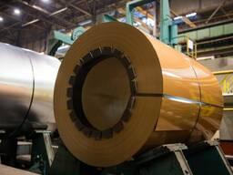 Оцинкованная сталь с полимерным покрытием 0. 30 мм