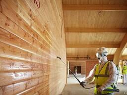 Огнезащита деревянных и металлических конструкции