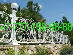 Оградки на могилу в Алматы, изготовление, установка - фото 3