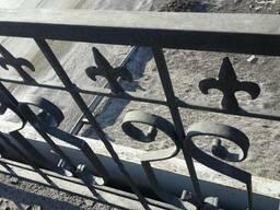 Ограждения мостовые
