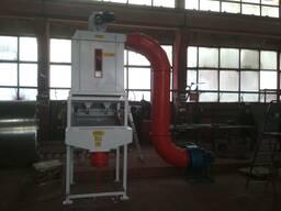 Охладитель гранул (колонна охлаждения пеллет)