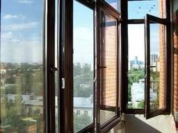 Окна, двери, витражи Rehau в кредит