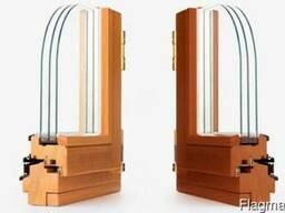 Окна из массива лиственных и хвойных пород древесины!