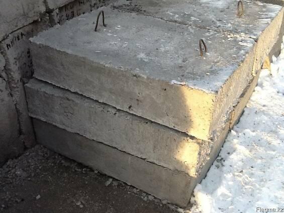 Опорные плиты в Караганде (ЖБИ)