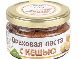 Ореховая паста с кешью 200 г (Житница Здоровья)