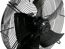 Осевые вентиляторы с защитной решеткой серии YWF