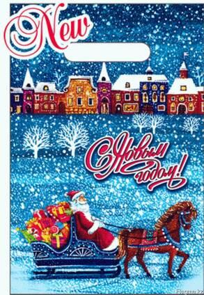 Пакетик Новогодний подарочный