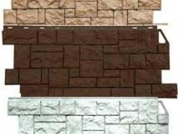 Фасадные панели пластик и сайдинг