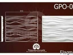 Панель стеновая гипсовая GPO-08