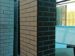 Панели Хризотилцементные стеновые под кирпич