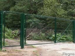 Панельное ограждение, решетчатый забор, 3D ограждение Кокшет