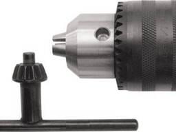 Патрон для дрели ключевой, 3-16 мм, конус В18, Сибртех