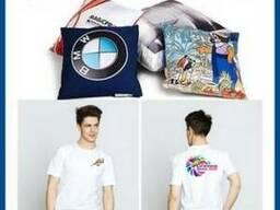 Печать на футболках, ткани