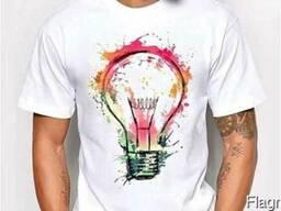 Печать на футболке (сублимация)