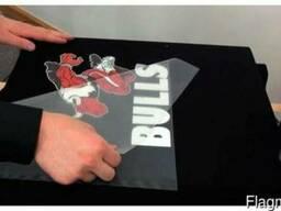 Печать на футболке (термотрансферная печать)