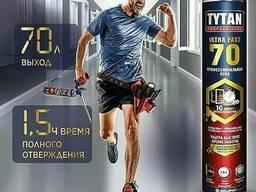 Пена монтажная TYTAN 70 L Новинка сезона. 1.5 часа высыхания