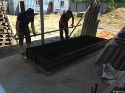Оборудование для изготовление пеноблоков с формами