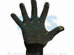 Перчатки х/б с покрытием ПВХ («Лидер»)