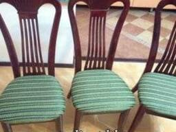 Перетяжка (обивка) стульев и кухонных уголков Алматы