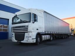 Перевозка грузов в Шымкенте шторка