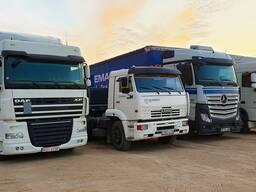Перевозки грузов собственным автотранспортом