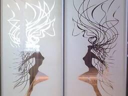 Пескоструйная обработка стекол и зеркал