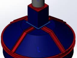 Планетарный бетоносмеситель BP-1250/750 комплектующий на БСУ