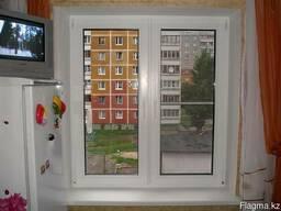 Пластиковые окна. Кухня (панельный дом) - фото 3