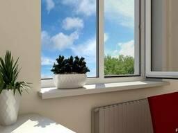 Пластиковые окна. Кухня (панельный дом) - фото 8