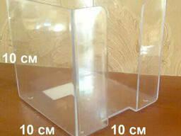 Пластиковые подставки, холдеры. ценникодержатели, визитницы - фото 3