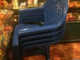 Пластмассовые столы и стулья - фото 2