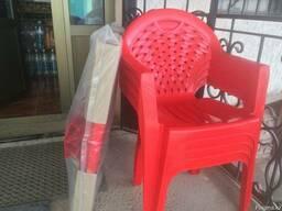 Пластмассовые столы и стулья - фото 3