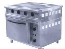 Плита электрическая 4х конфорочная с духовкой.
