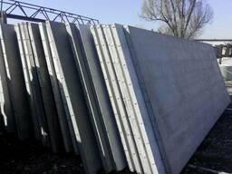 Плита заборная бетонная 4000х2500