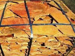 Плитняк -Златолит серебристый от 1, 5 до 4, 0 см
